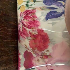Ted Baker floral vinyl tote